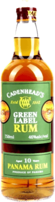 Medium cadenhead s panama green label 10 year