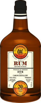 Medium cadenhead s trinidad cask strength 20 year