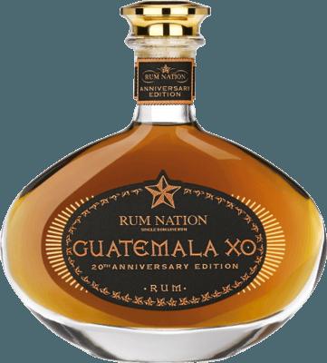 Medium rum nation guatemala xo 20th anniversary
