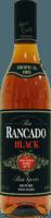 Small ron rancado black rum