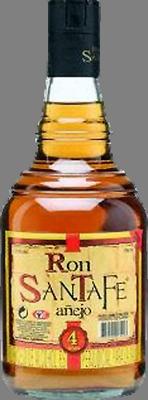 Ron santaf  anejo 4 year rum