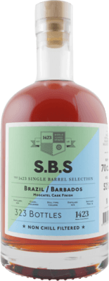 S.B.S. Brazil Barbados Moscatel Cask rum