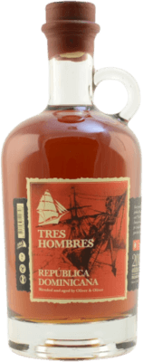 Medium tres hombres dominican republic 2018 madeira finish 18 year