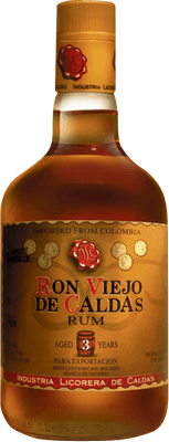Medium ron viejo de caldas 3 year rum