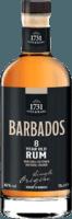 Small 1731 fine rare barbados 8 year