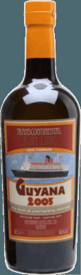 Medium transcontinental rum line guyana 2005 12 year