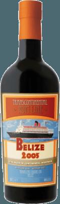 Medium transcontinental rum line belize 2005