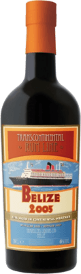 Medium transcontinental rum line belize 2005
