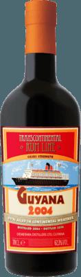 Medium transcontinental rum line guyana 2004