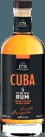 Small 1731 fine rare cuba 5 year