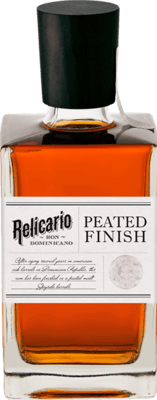 Medium relicario peated finish