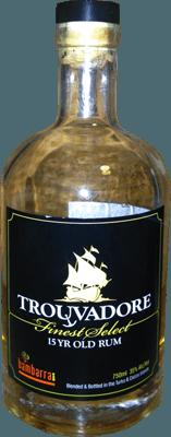 Medium bambarra trouvadore 15 year rum