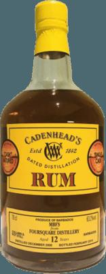 Medium cadenhead s 2006 foursquare single cask 12 year