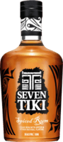 Small seven tiki spiced rum