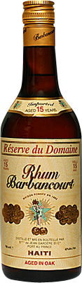 Barbancourt 15 reserve du domaine rum