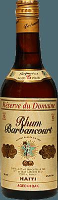 Medium barbancourt 15 reserve du domaine rum
