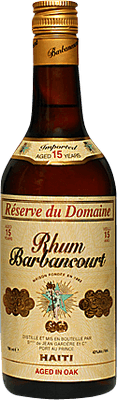 Medium barbancourt 15 reserve du domaine rum