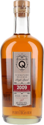Medium don q 2009 signature release single barrel 10 year