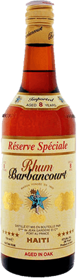 Medium barbancourt 5 star reserve especiale 8 year rum