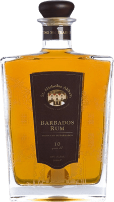Medium st. nicholas abbey 10 year rum