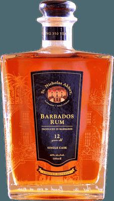 Medium st  nicholas abbey  12 year rum b