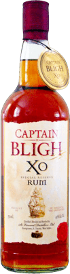 Medium sunset captain bligh golden rum