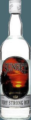 Medium sunset very strong rum