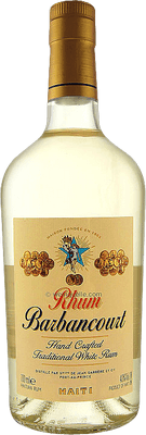 Medium barbancourt traditional white rum