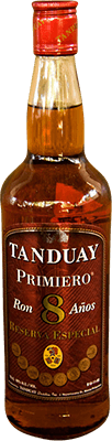 Tanduay primiero 8 year rum 400px