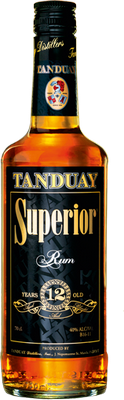 Tanduay superior 12 year rum