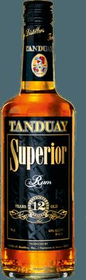 Medium tanduay superior 12 year rum