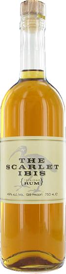 The scarlet ibis rum