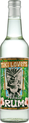 Medium tiki lovers white rum