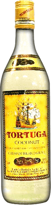 Medium tortuga coconut rum