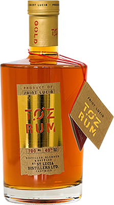 Toz gold rum