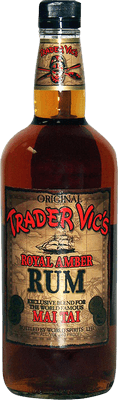 Medium trader vics royal amber rum