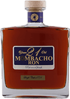 Mombacho 21 year port wood rum 200px
