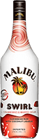 Malibu  strawberries   whipped creme swirl rum 200px