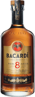 Bacardi 8 gran reserva rum 200px