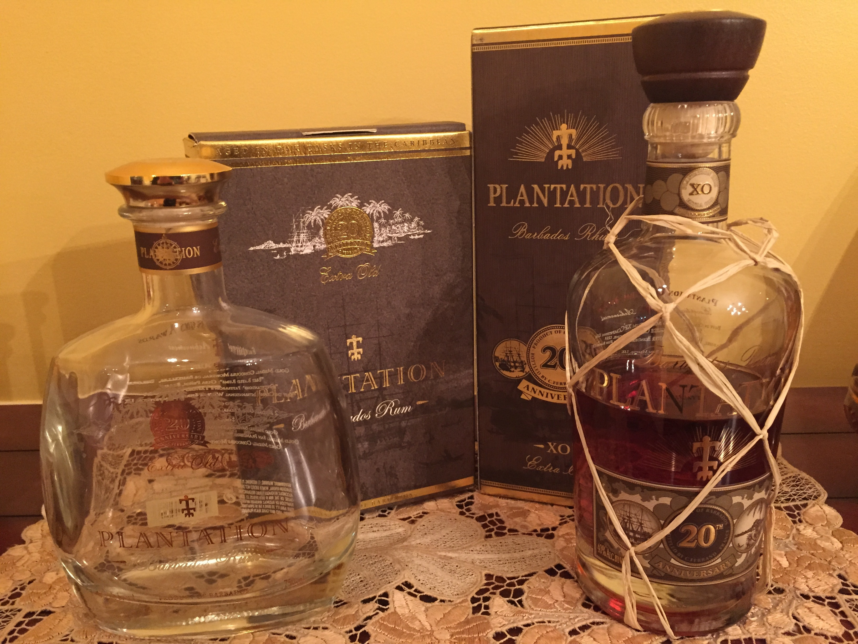 Plantation XO 20th Anniversary (old bottle) | Rum Ratings