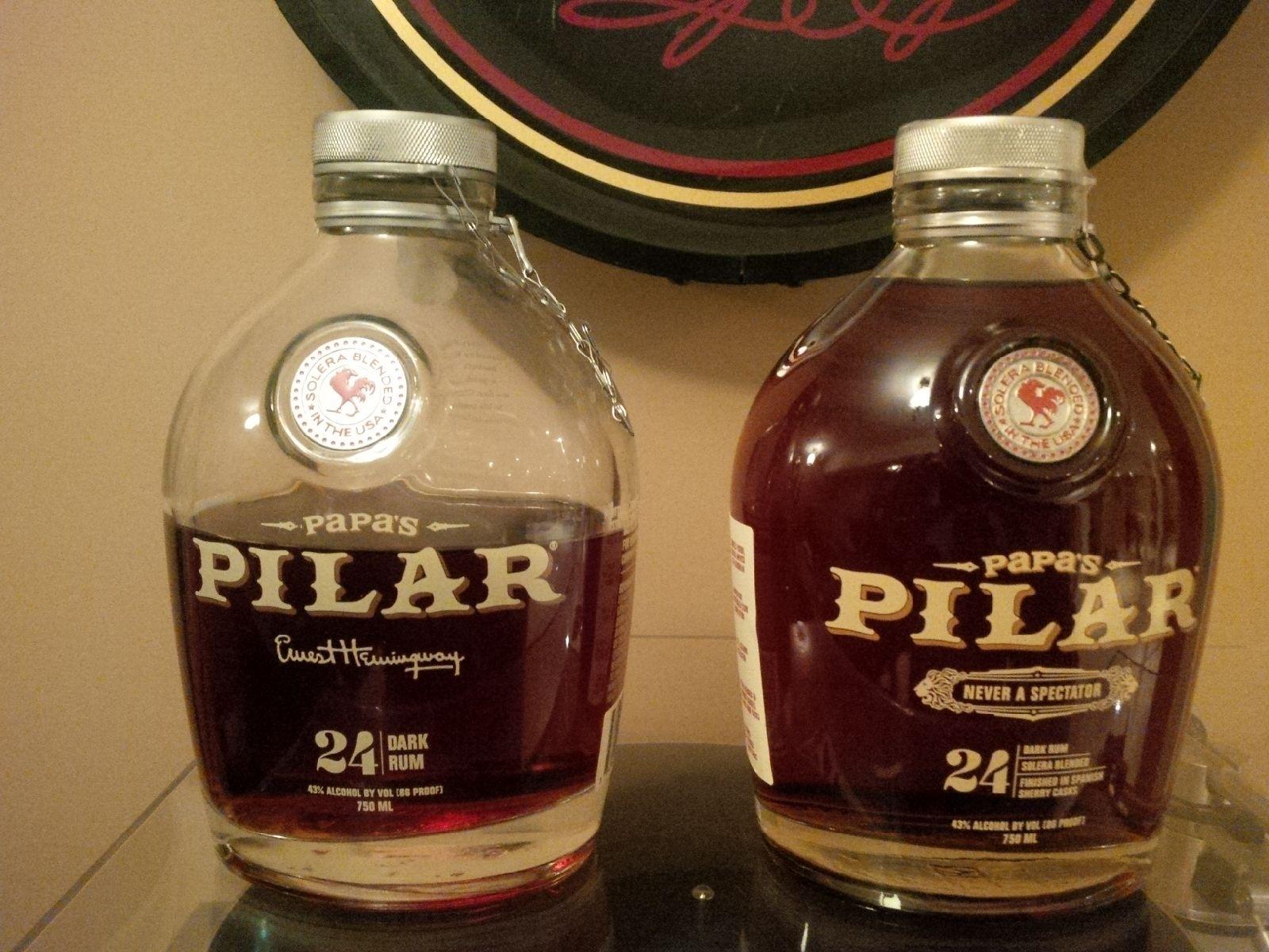 Papa's Pilar Rum Review - YouTube